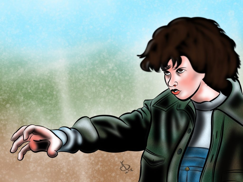 Artwork of Stranger Things by Michael Soto