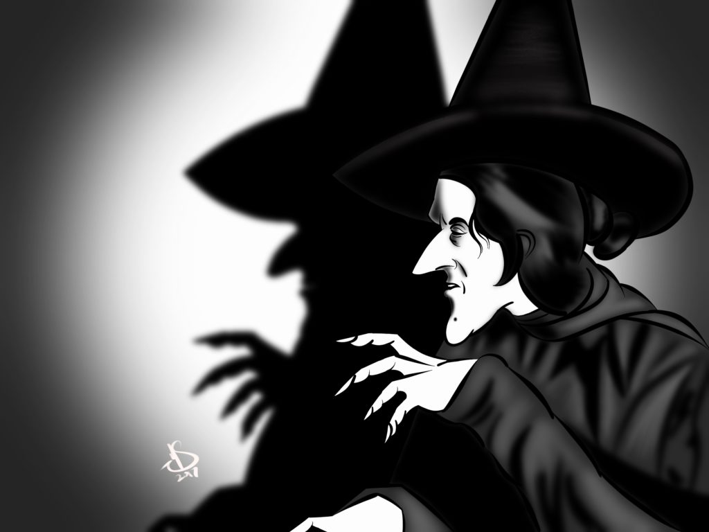 Art of The Wicked Witch by Michael Soto