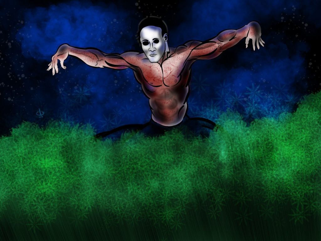 Artwork of The Boogie Man by Michael Soto